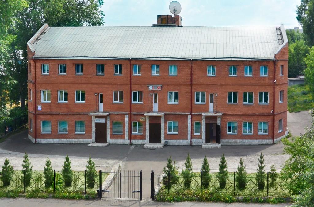 Фасад здания Баумана 20в